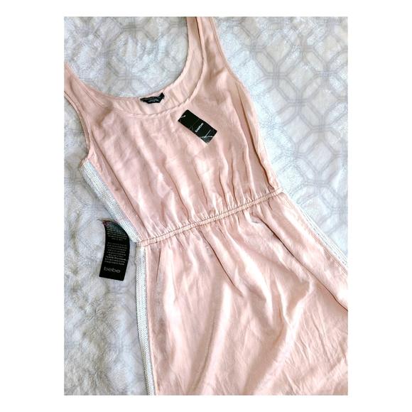 (NEW) Sequins Inset Shimmering Tank Dress